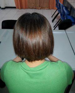 رنگ مو قهوه ای متوسط