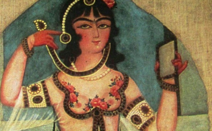 آرایشگری در ایران باستان