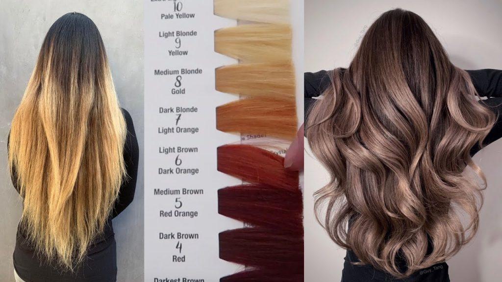 محصولات رنگ مو،  ترکیب شیمیایی رنگ مو ،آموزشگاه آرایشگری زنانه، سون لینک